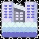 Flood Disaster Rain Icon