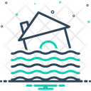 Flood Deluge Overflow Icon