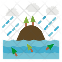 Flood Insurance Disaster Icon