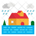Flood Water Weather Icon