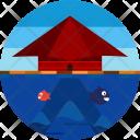 Flood House Stuck Icon