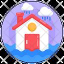Flood Disaster Catastrophe Icon