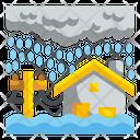 Flood Rain Flooding Icon