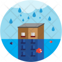 Flood Natural Disaster Icon