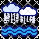 Flood Damage Disaster Icon