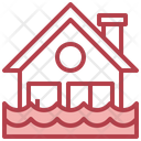 Flood Flooded House House Icon