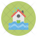 House Raining Forecast Icon