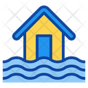 Flood Disaster Water Icon