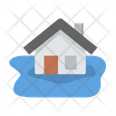 Coverage Flood Home Icon
