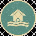 Flood Symbol Icon
