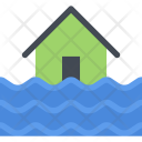 Flood Nature Phenomenon Icon