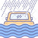 Flood Coverage Flood Coverage Icon
