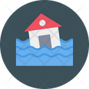 Building Water Destruction Icon