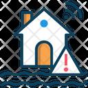 M Flood Flood Home Smart Home Icon