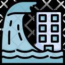 Flood Tsunami Flooded Icon