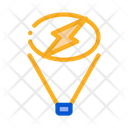 Floodlight Give Signal Icon