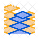 Laying Floor Tiles Icon
