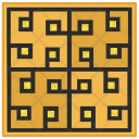 Floor Tile Decoration Icon