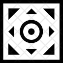 Ornament Geometry Square Icon