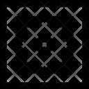 Square Floor Tile Icon