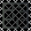 Floor Plan Layout Building Icon