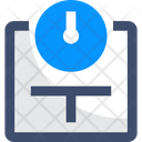 Floor Scales Icon