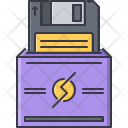 Floppy Disk Data Icon