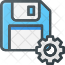Floppy Storage Settings Icon