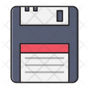Floppy Diskette Storage Icon