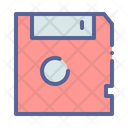 Disc Memory Data Icon