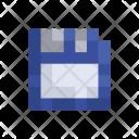 Floppy Disk Storage Icon