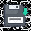 Floppy Disc Download Icon