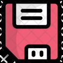 Floppy Disk Retro Icon