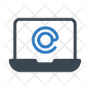 Email Message Laptop Icon