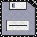 Floppy Diskette Chip Icon