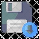 Floppy Download Save Floppy Data Storage Icon