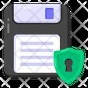 Storage Safety Disk Safety Floppy Protection Icon