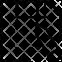 Floppy Write Optical Icon
