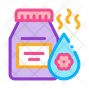 Floral Elixir Bottle Icon