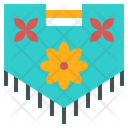 Floral Display Flag Icon