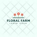 Floral Farm Icon