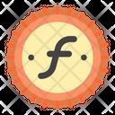 Florin Aruba Currency Icon