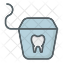 Floss Tooth Dental Icon