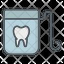 Floss Dental Thread Icon