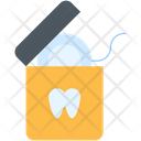 Floss Dental Tooth Icon