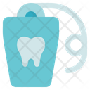 Dentist Floss String Dental Floss Icon