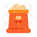 Flour Wheat Flour Flour Bag Icon