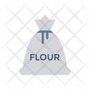 Flour Bag Wheat Icon