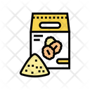 Flour Oat Bag Icon