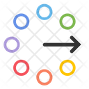 Flow Problem Solution Strategy Icon